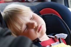 Niño durmiente Fotos de archivo libres de regalías