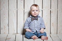 niño elegante de la moda Imágenes de archivo libres de regalías