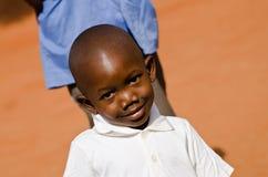 Niño en África foto de archivo libre de regalías