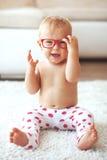 Niño en casa Foto de archivo libre de regalías
