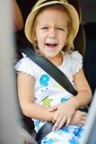 Niño en coche Imágenes de archivo libres de regalías