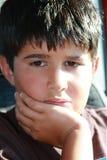 Niño en cuestión Fotos de archivo libres de regalías