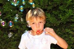 Niño en el juego Fotos de archivo