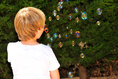 Niño en el juego Imágenes de archivo libres de regalías