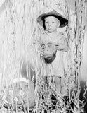 Niño en el traje de Halloween (todas las personas representadas no son vivas más largo y ningún estado existe Garantías del prove Imagen de archivo libre de regalías