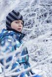 Niño en invierno Fotografía de archivo libre de regalías