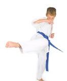 Niño en karate Foto de archivo libre de regalías
