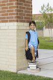 Niño en la escuela Fotos de archivo libres de regalías