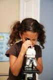 Niño en la escuela Imagen de archivo libre de regalías