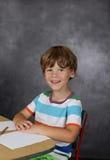 Niño en la escuela, educación Imagenes de archivo