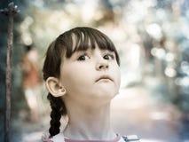 Niño en la selva Fotos de archivo