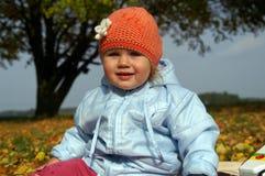Niño en parque Imagenes de archivo