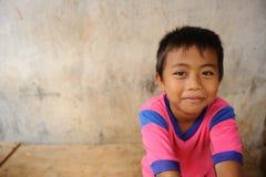 Niño en pobreza fotos de archivo