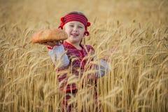 Niño en traje nacional ucraniano Fotografía de archivo libre de regalías
