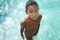 Niño en verano Fotografía de archivo libre de regalías