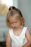 Niño enojado fotografía de archivo libre de regalías