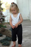 Niño enojado Foto de archivo libre de regalías