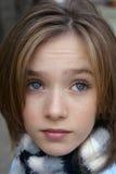 Niño Eyed azul Imágenes de archivo libres de regalías