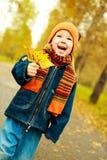 Niño feliz foto de archivo