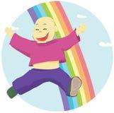 Niño feliz libre illustration