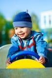 Niño feliz al aire libre Imagen de archivo
