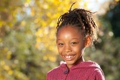 Niño feliz del afroamericano fotos de archivo