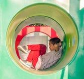 Niño feliz, niño asiático del bebé fotos de archivo libres de regalías
