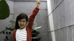 Niño fuerte que lucha la enfermedad Foto de archivo libre de regalías