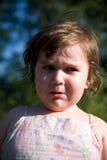 Niño gritador Fotos de archivo libres de regalías