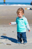 Niño gritador infeliz Imagen de archivo libre de regalías