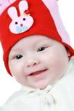 Niño hermoso de la muchacha Fotografía de archivo