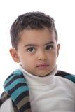 Niño hermoso que mira lejos Fotografía de archivo libre de regalías