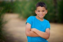 Niño hispánico Fotos de archivo