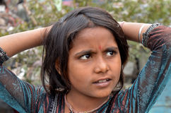 Niño indio Foto de archivo libre de regalías