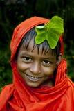 Niño indio del pueblo Imagenes de archivo