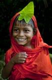 Niño indio del pueblo Imagen de archivo libre de regalías
