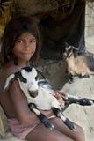 Niño indio del pueblo Imágenes de archivo libres de regalías