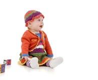 Niño infantil Imagen de archivo libre de regalías