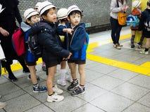 Niño japonés imagen de archivo