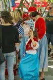 Niño joven en el vestido tradicional Fotografía de archivo libre de regalías
