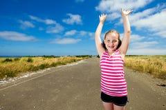 Niño joven feliz Fotos de archivo