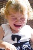 Niño lindo con el rasgón fotografía de archivo