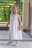 Niño lindo con el rasgón fotografía de archivo libre de regalías
