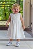 Niño lindo con el rasgón Fotos de archivo libres de regalías