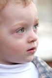 Niño lindo - redhead imagenes de archivo