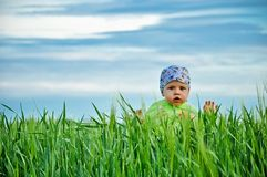Niño maravilloso Imagenes de archivo