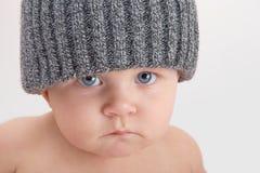 Niño melancólico imagen de archivo libre de regalías