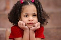 Niño multirracial Foto de archivo libre de regalías