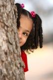 Niño multirracial Imagen de archivo