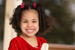 Niño, multirracial Foto de archivo libre de regalías